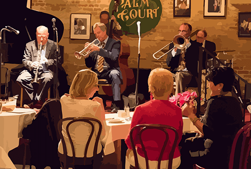 The Palm Court Jazz Cafe Live Traditional Jazz With New